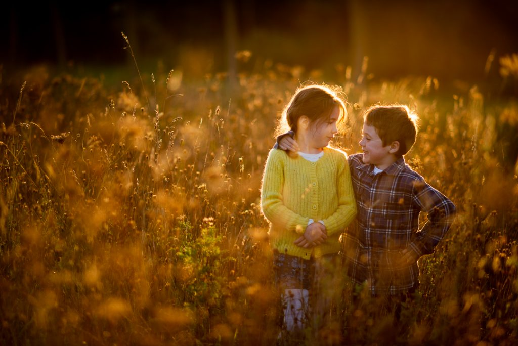 Autumn golden hour in Essex with Belinda Grant Photography