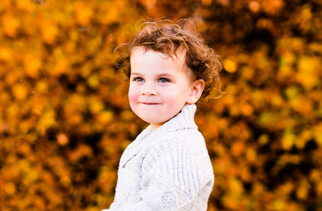Outdoor Autumn Family Photography in Suffolk