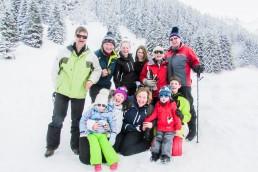 Family Skiing Holidays Belinda Grant Photography