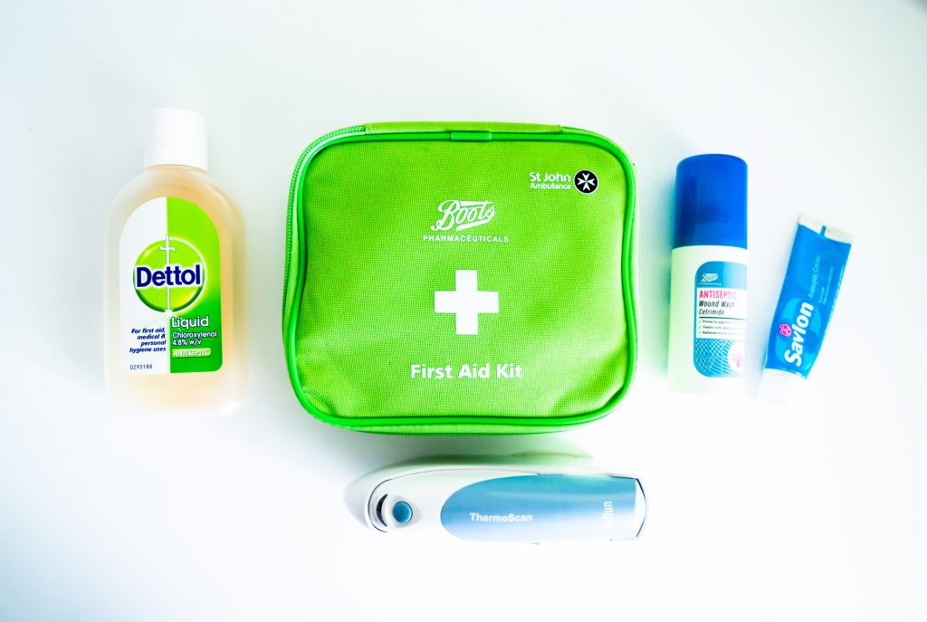 medical kit for holidays