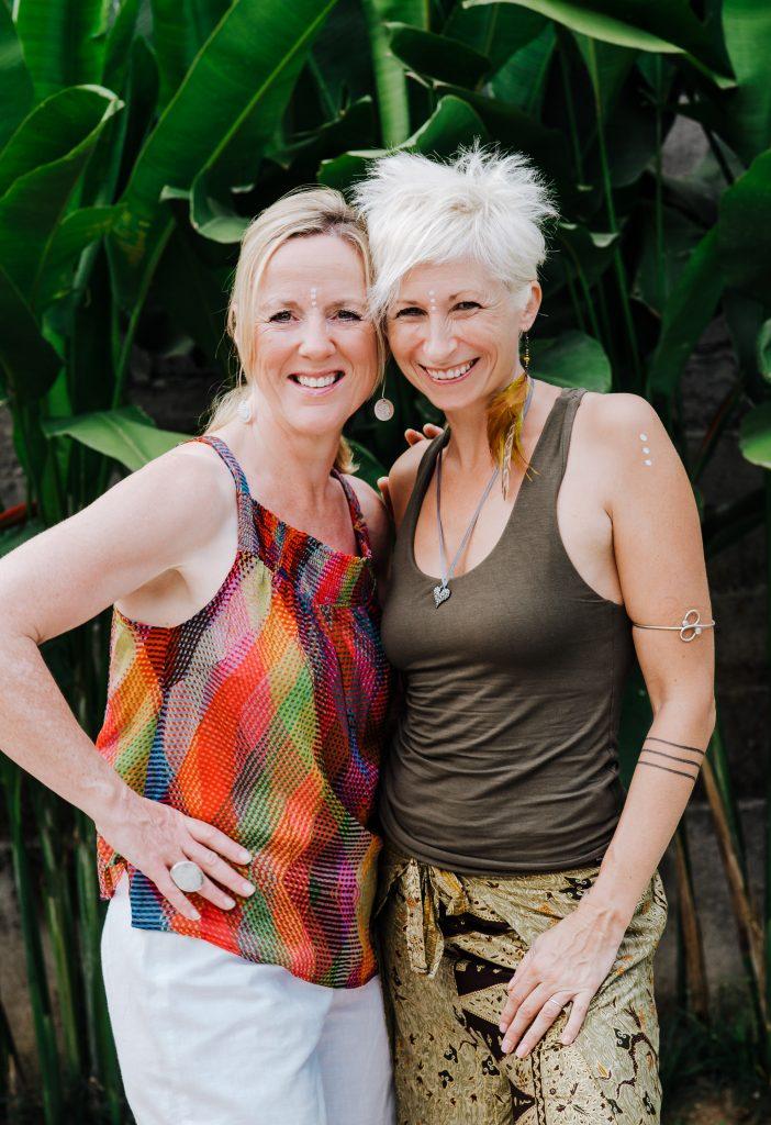 Lynette Allen and Belinda Grant